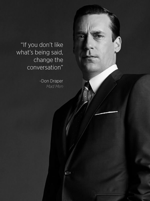 Don Draper quotation
